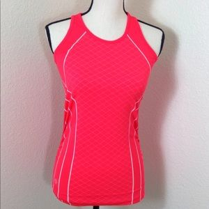 Athleta Workout Women Tank Top Neon Pink S